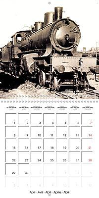 Memories of old times: Historic steam locomotives (Wall Calendar 2019 300 × 300 mm Square) - Produktdetailbild 4
