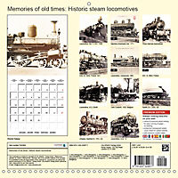 Memories of old times: Historic steam locomotives (Wall Calendar 2019 300 × 300 mm Square) - Produktdetailbild 13
