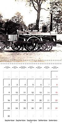 Memories of old times: Historic steam locomotives (Wall Calendar 2019 300 × 300 mm Square) - Produktdetailbild 9