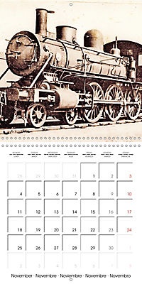 Memories of old times: Historic steam locomotives (Wall Calendar 2019 300 × 300 mm Square) - Produktdetailbild 11