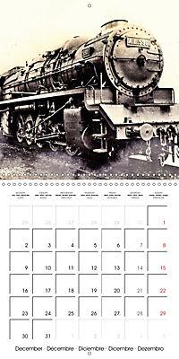 Memories of old times: Historic steam locomotives (Wall Calendar 2019 300 × 300 mm Square) - Produktdetailbild 12