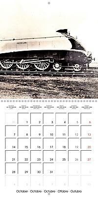 Memories of old times: Historic steam locomotives (Wall Calendar 2019 300 × 300 mm Square) - Produktdetailbild 10