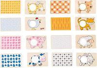 Memospiel Tiermuster 16-Teilig - Produktdetailbild 1