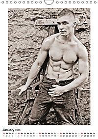 MEN by eLHiT photography (Wall Calendar 2019 DIN A4 Portrait) - Produktdetailbild 1