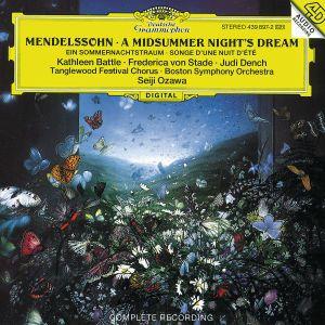 Mendelssohn: A Midsummer Night's Dream, Battle, Stade, Ozawa, Bso