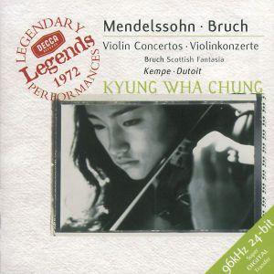Mendelssohn: Violin Concerto / Bruch: Violin Concerto / Scottish Fantasy, Kyung-Wha Chung, Charles Dutoit, Rpo