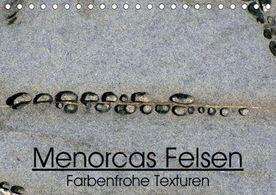 Menorcas Felsen. Farbenfrohe Texturen (Tischkalender 2019 DIN A5 quer), Lorenzo Sechi
