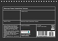 """""""Menorcas Felsen. Farbenfrohe Texturen"""" (Tischkalender 2019 DIN A5 quer) - Produktdetailbild 13"""