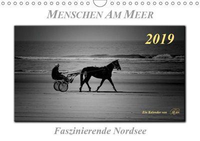 Menschen am Meer - faszinierende Nordsee (Wandkalender 2019 DIN A4 quer), Peter Roder
