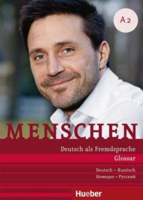 Menschen - Deutsch als Fremdsprache: Bd.A2 Glossar Deutsch-Russisch, Daniela Niebisch