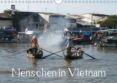 Menschen in Vietnam (Wandkalender 2019 DIN A4 quer), Stefanie Goldscheider