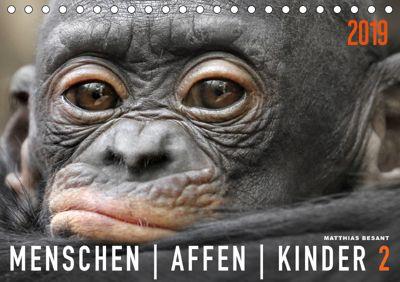 MENSCHENAFFENKINDER 2 (Tischkalender 2019 DIN A5 quer), Matthias Besant