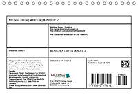 MENSCHENAFFENKINDER 2 (Tischkalender 2019 DIN A5 quer) - Produktdetailbild 13