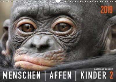MENSCHENAFFENKINDER 2 (Wandkalender 2019 DIN A3 quer), Matthias Besant