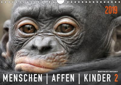 MENSCHENAFFENKINDER 2 (Wandkalender 2019 DIN A4 quer), Matthias Besant