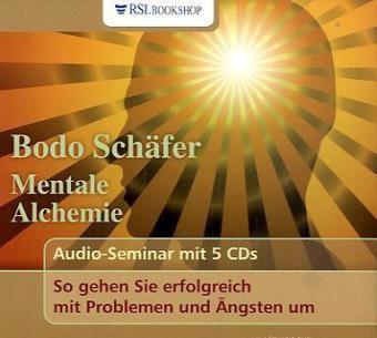 Mentale Alchemie, 5 Audio-CDs, Bodo Schäfer