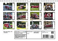 Mercedes Benz 170 Cabriolet (Wandkalender 2019 DIN A4 quer) - Produktdetailbild 13