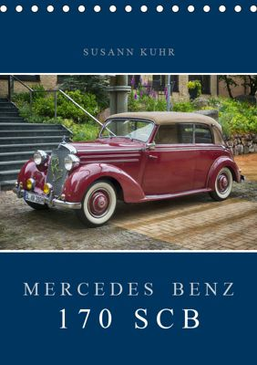 Mercedes Benz 170 SCB (Tischkalender 2019 DIN A5 hoch), Susann Kuhr