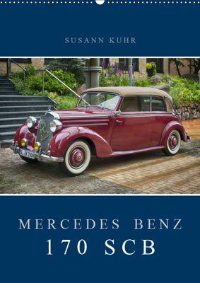 Mercedes Benz 170 SCB (Wandkalender 2019 DIN A2 hoch), Susann Kuhr