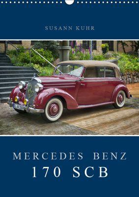 Mercedes Benz 170 SCB (Wandkalender 2019 DIN A3 hoch), Susann Kuhr