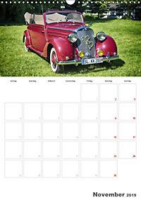 Mercedes Benz 170 SCB (Wandkalender 2019 DIN A3 hoch) - Produktdetailbild 11