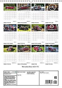 Mercedes Benz 170 SCB (Wandkalender 2019 DIN A3 hoch) - Produktdetailbild 13
