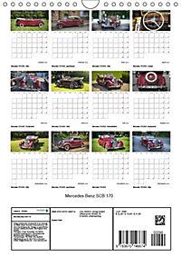 Mercedes Benz 170 SCB (Wandkalender 2019 DIN A4 hoch) - Produktdetailbild 13