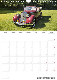 Mercedes Benz 170 SCB (Wandkalender 2019 DIN A4 hoch) - Produktdetailbild 9