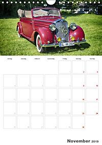 Mercedes Benz 170 SCB (Wandkalender 2019 DIN A4 hoch) - Produktdetailbild 11