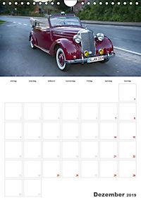 Mercedes Benz 170 SCB (Wandkalender 2019 DIN A4 hoch) - Produktdetailbild 12