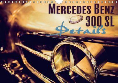 Mercedes Benz 300 SL - Details (Wandkalender 2019 DIN A4 quer), Johann Hinrichs
