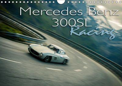 Mercedes Benz 300SL - Racing (Wandkalender 2019 DIN A4 quer), Johann Hinrichs