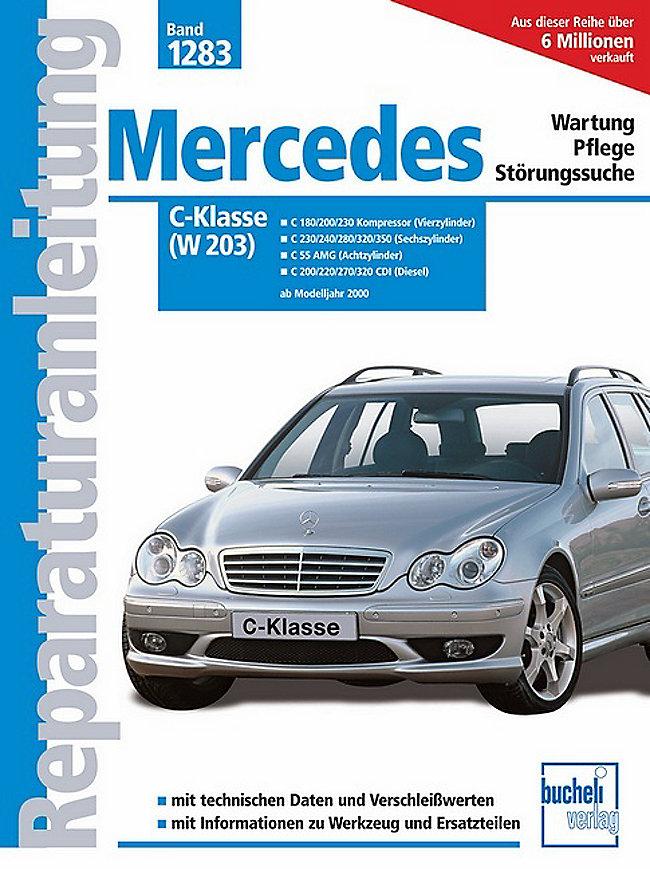 mercedes-benz c-klasse w203, ab baujahr 2000 buch portofrei