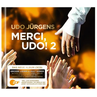Merci, Udo! 2 (Limited Premium Edition, 3 CDs), Udo Jürgens