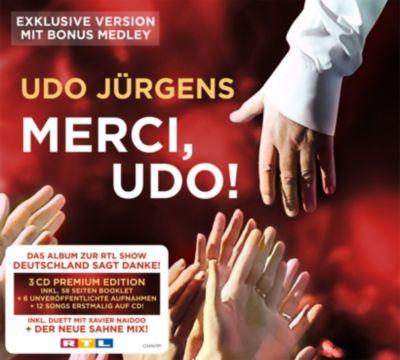 Merci, Udo! (Exklusive Version mit Bonus Medley, 3 CDs), Udo Jürgens