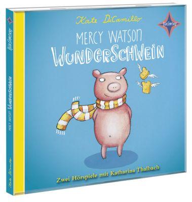 Mercy Watson - Wunderschwein, 2 Audio-CDs, Kate DiCamillo