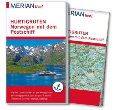 MERIAN live! Reiseführer Hurtigruten. Norwegen mit dem Postschiff - Ralf Schröder  