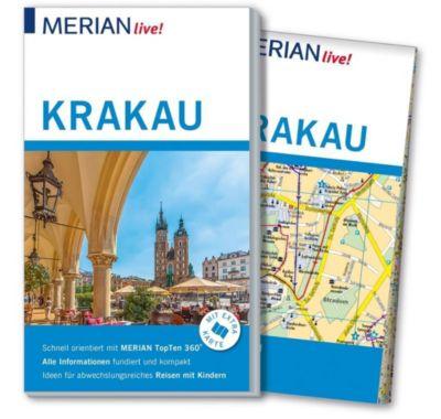 MERIAN live! Reiseführer Krakau - Izabella Gawin |