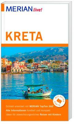 MERIAN live! Reiseführer Kreta, Klaus Bötig