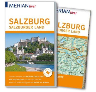 MERIAN live! Reiseführer Salzburg Salzburger Land - Georg Weindl |