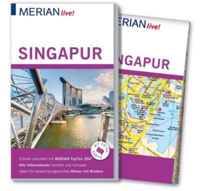 MERIAN live! Reiseführer Singapur, Klaudia Homann, Eberhard Homann