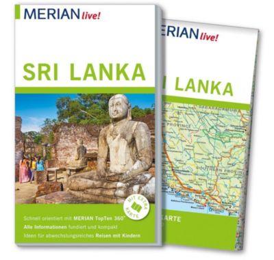 MERIAN live! Reiseführer Sri Lanka - Elke Homburg |