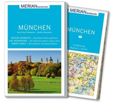 MERIAN momente Reiseführer München, Hans E. Rübesamen, Annette Rübesamen