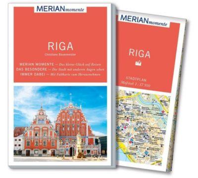 MERIAN momente Reiseführer Riga, Christiane Bauermeister