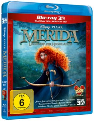 Merida: Legende der Highlands - 3D-Version
