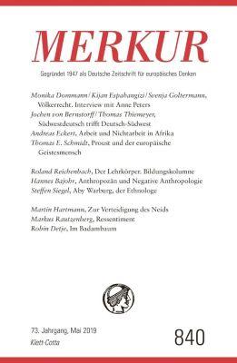 MERKUR Deutsche Zeitschrift für europäisches Denken -  pdf epub