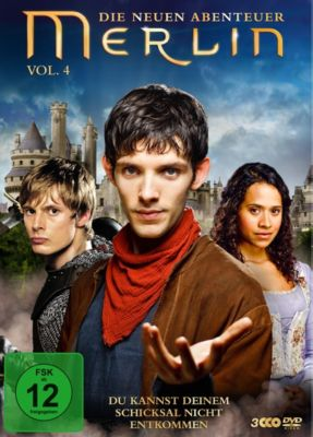 Merlin - Die neuen Abenteuer Vol. 4, Colin Morgan, Bradley James, Katie McGrath
