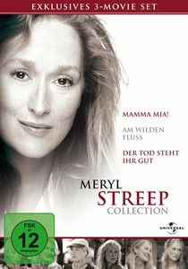 Meryl Streep Collection, 3 DVDs, Amanda Seyfried,Pierce Brosnan Meryl Streep