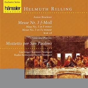 Messe 3 In F-Moll/+, Anton Bruckner, Giacomo Puccini