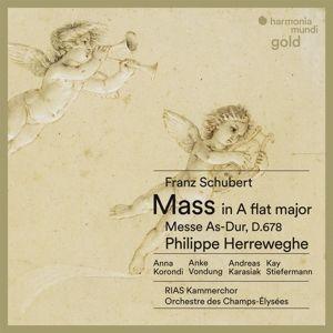 Messe As-Dur, P. Herreweghe, Rias Kammerchor, Orch.Des Champs-Elys